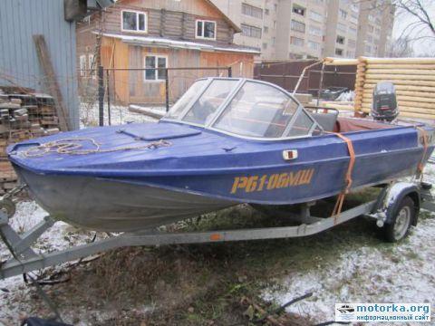 лодка казанка какой мотор поставить