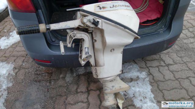 джонсон лодочные моторы красноярск