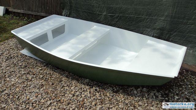 киль для лодки с плоским дном