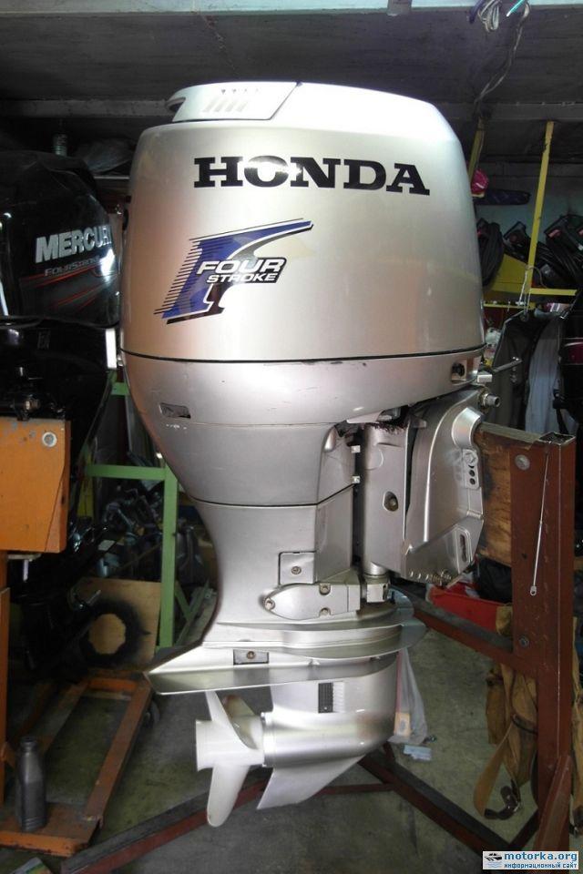 тест лодочных моторов honda