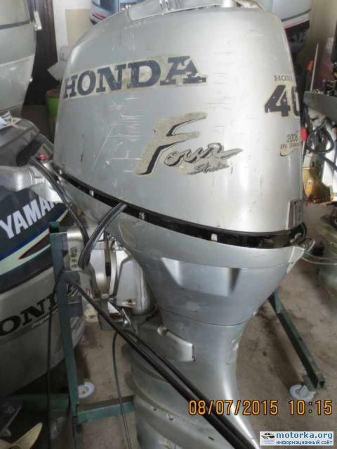 купить лодочный мотор хонда 5 л с 4 х тактный