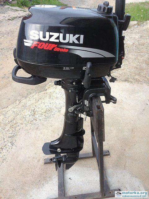 лодочный мотор suzuki-df5s. 4-х тактный