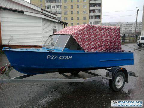 моторная лодка мкм переделанная