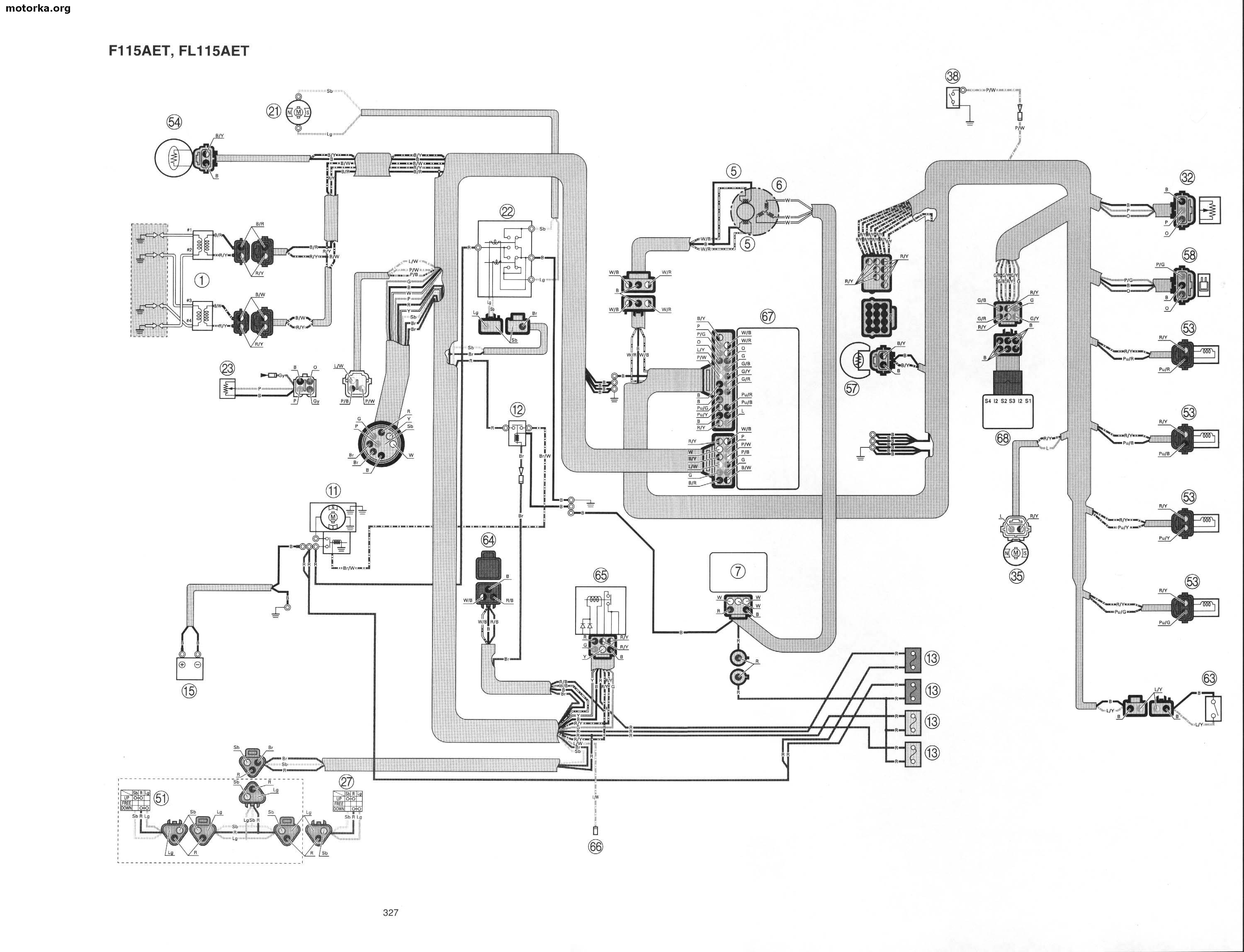 yamaha f200 outboard wiring diagram yamaha f200 cover