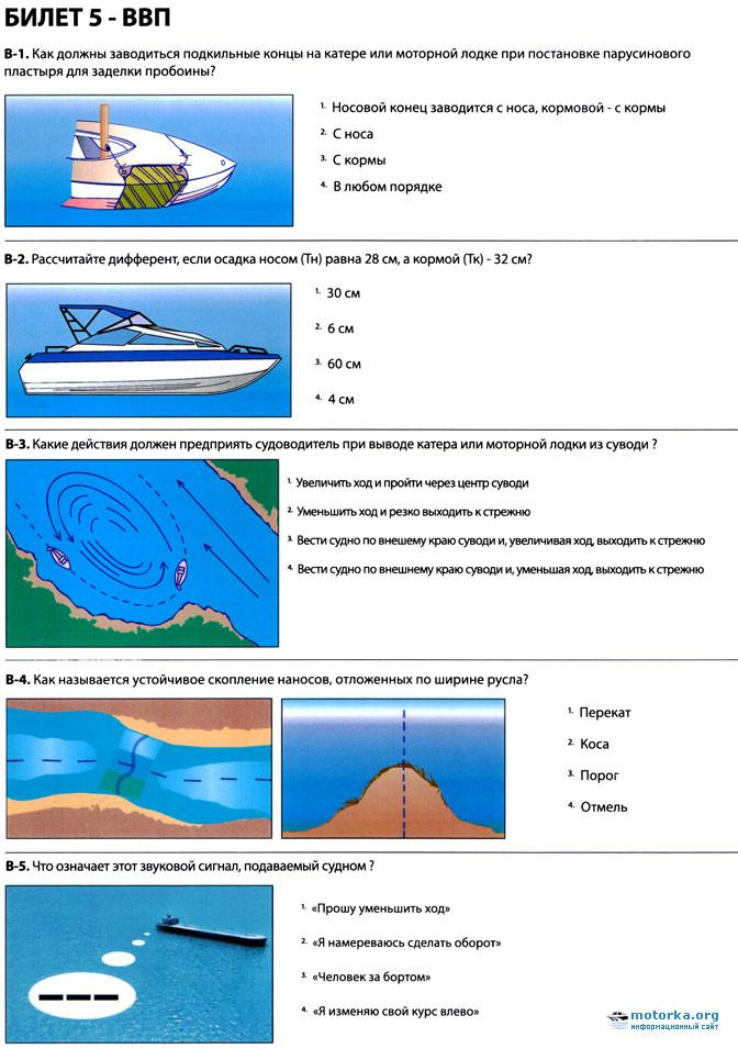 как встать на учет лодку