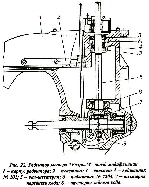 установка сальников на редуктор лодочный мотор