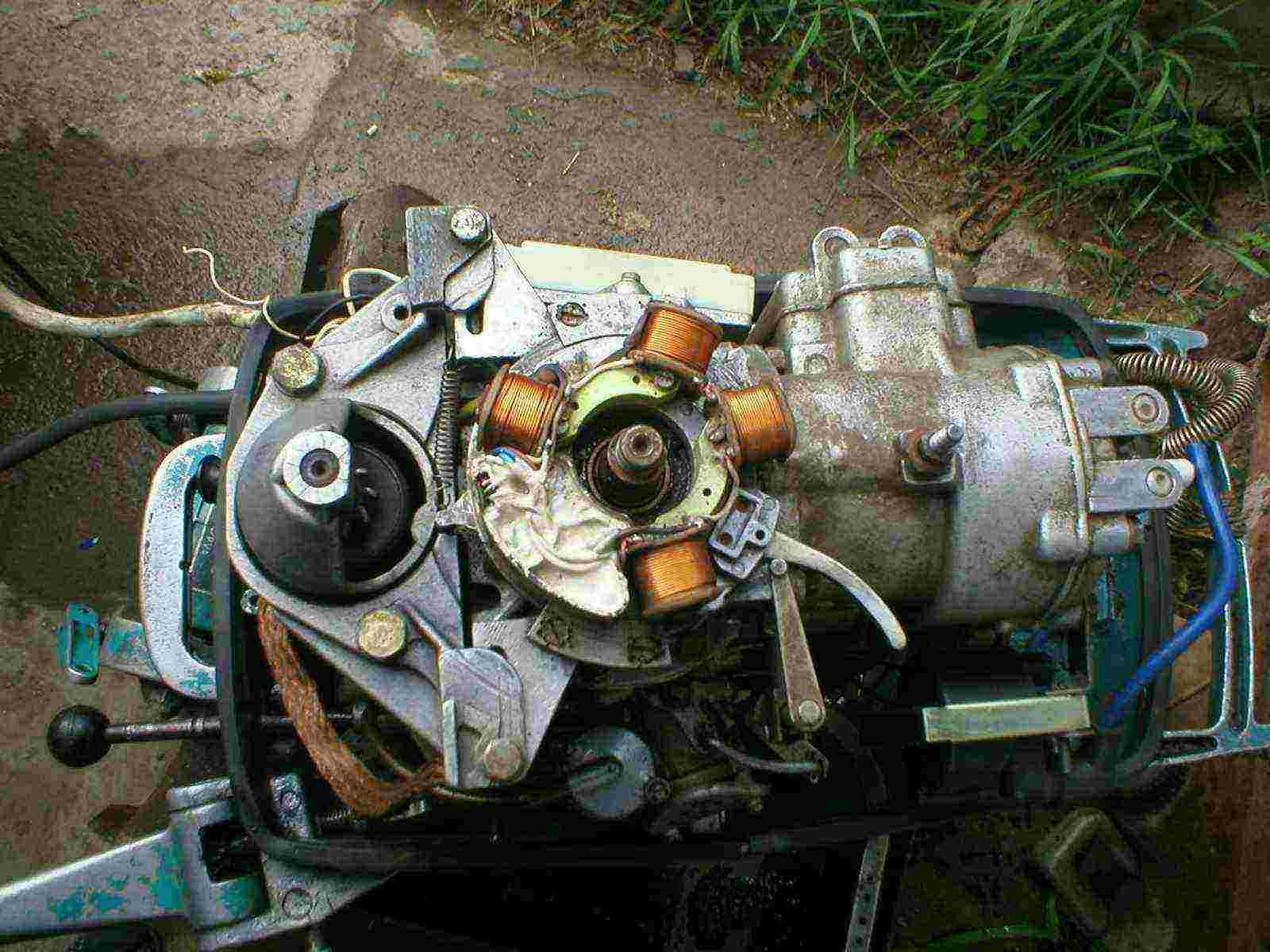 лодочные моторы нептун 23 пропадает искра