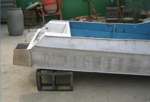 как удлинить днище лодки