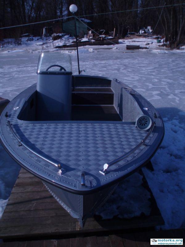 рестайлинг лодки мкм