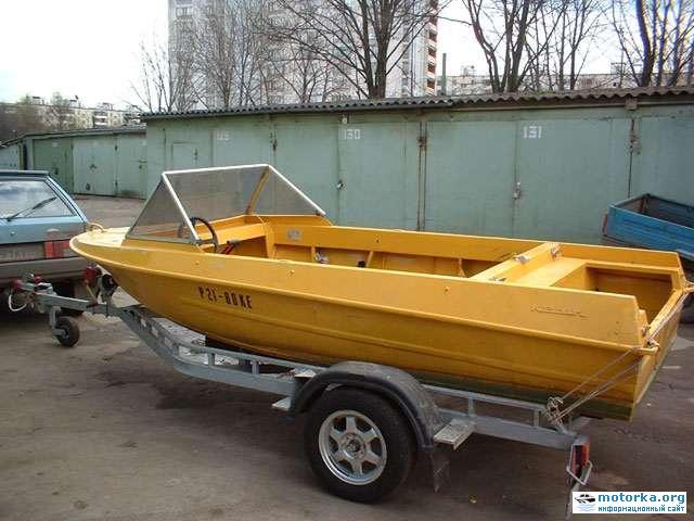 как сделать прицеп на лодку крым