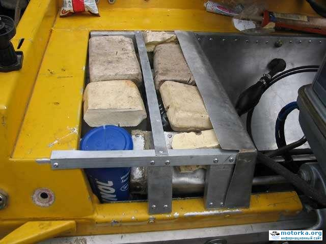 как правильно установить мотор на лодке днепр