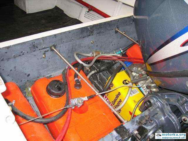 бензобаки для лодочных моторов своими руками