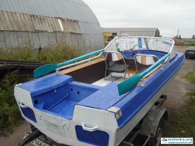 Моторная лодка обь 3