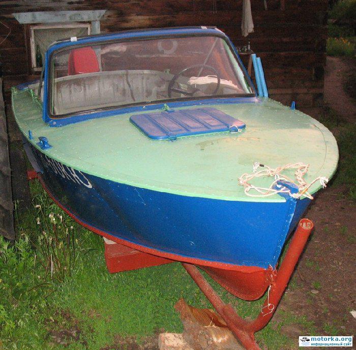 все о лодке прогрес 4