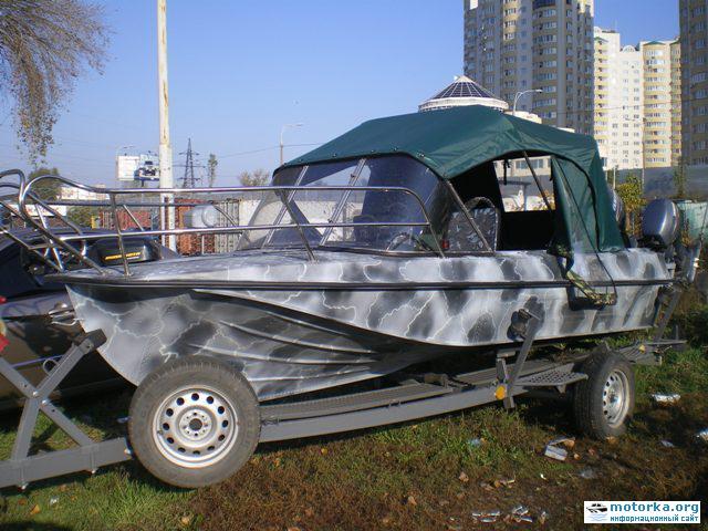 Тюнинг мотолодки Казанка 5М2,3,4: ... чтобы найти фото доработки лодки.
