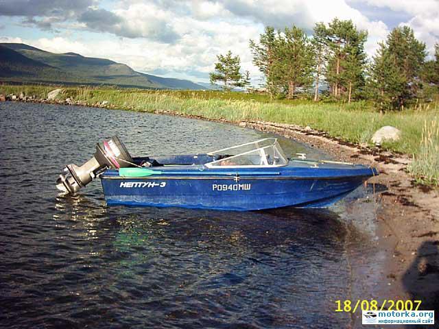 Моторная лодка Нептун-3