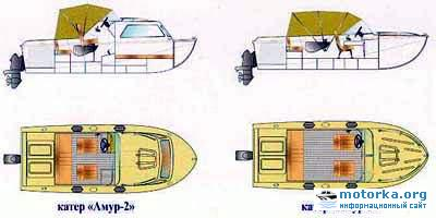 План катера Амур-2, Амур-3