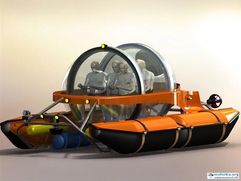 одноместная подводная лодка цена