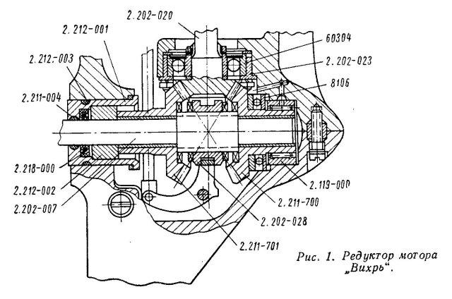 вода в редукторе лодочного мотора вихрь