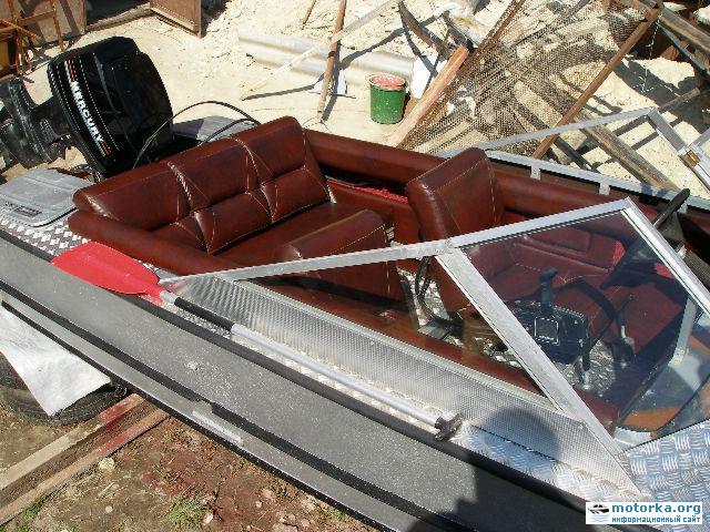 лодка полуостров  настройка  подпушка бортов равным образом  полов фанерой фото