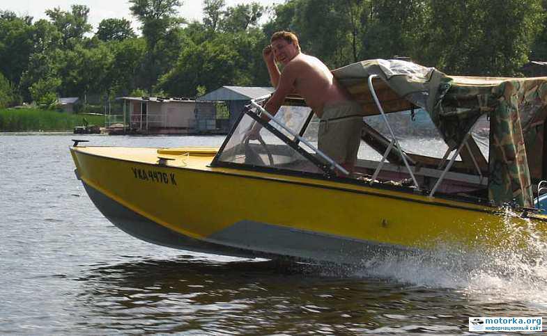 реставрация моторных лодок