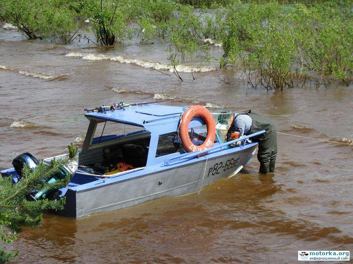 путешествие на лодке прогресс
