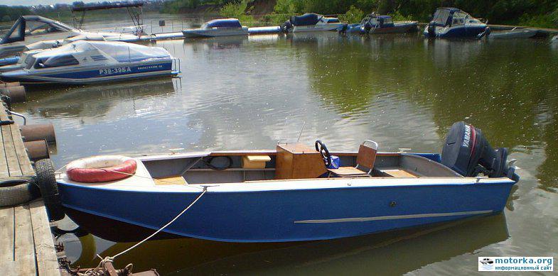управление лодкой казанкой