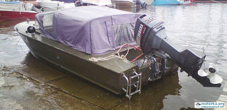 транец лодки прогресса-4
