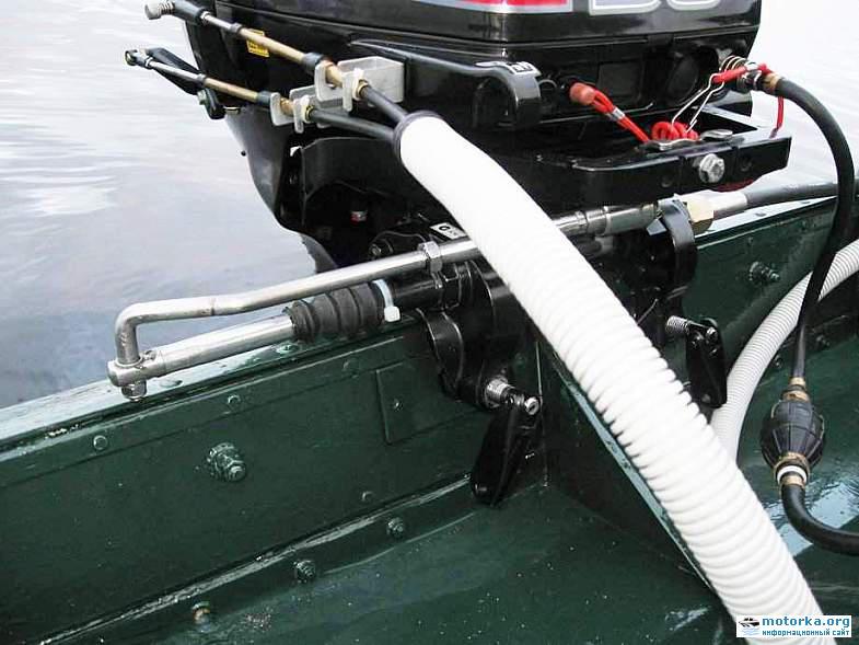 какой рулевой редуктор лучше для лодки