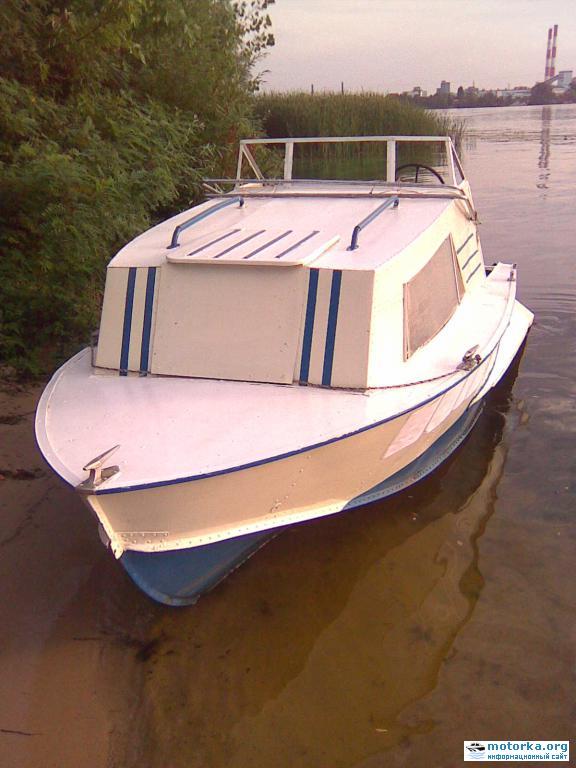 фотографии моторной лодки прогресс