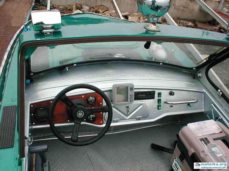 панель управления для катера