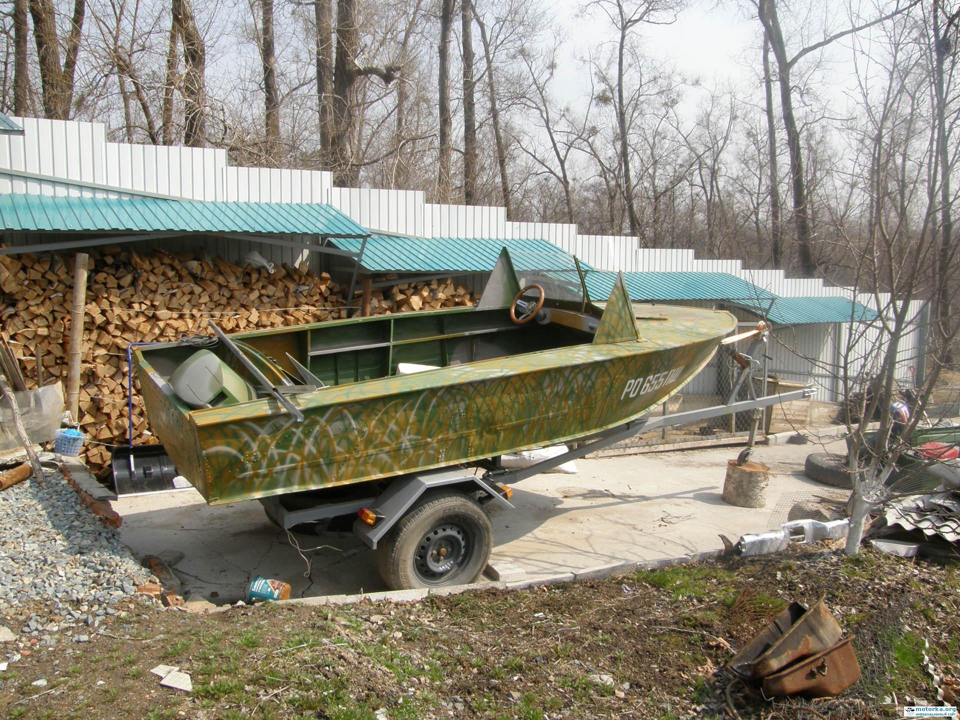 фото лодка прогресс