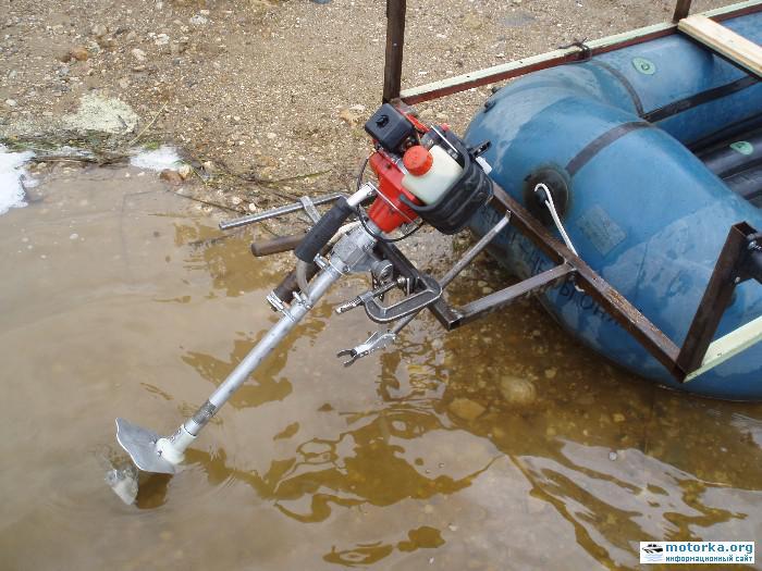 Самодельные электромоторы на надувные лодки - Интернет-магазин Посейдон