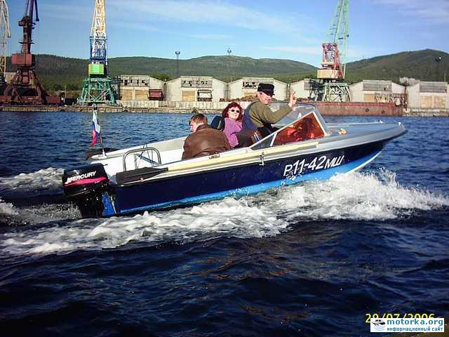 Моторная лодка Нептун3