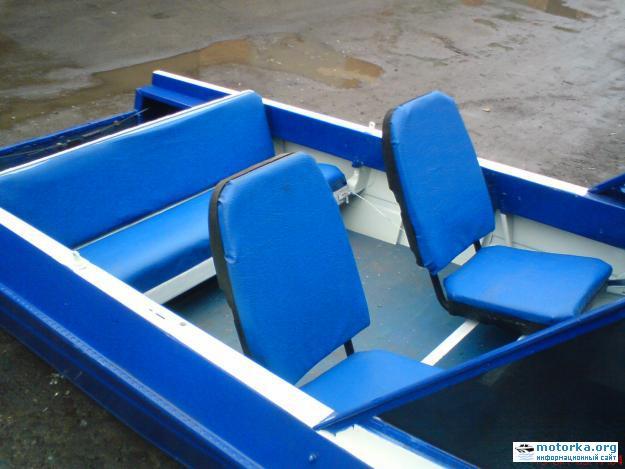 сидения для лодки прогресс своими руками