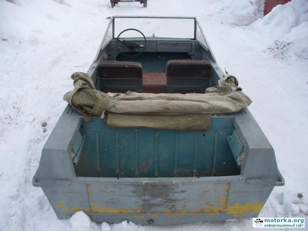 Транец лодки Крым-М