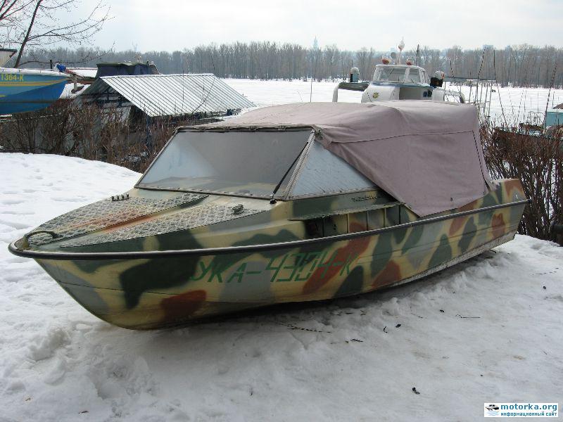 Тюнинг лодки Крым-М