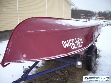 Днище лодки МКМ
