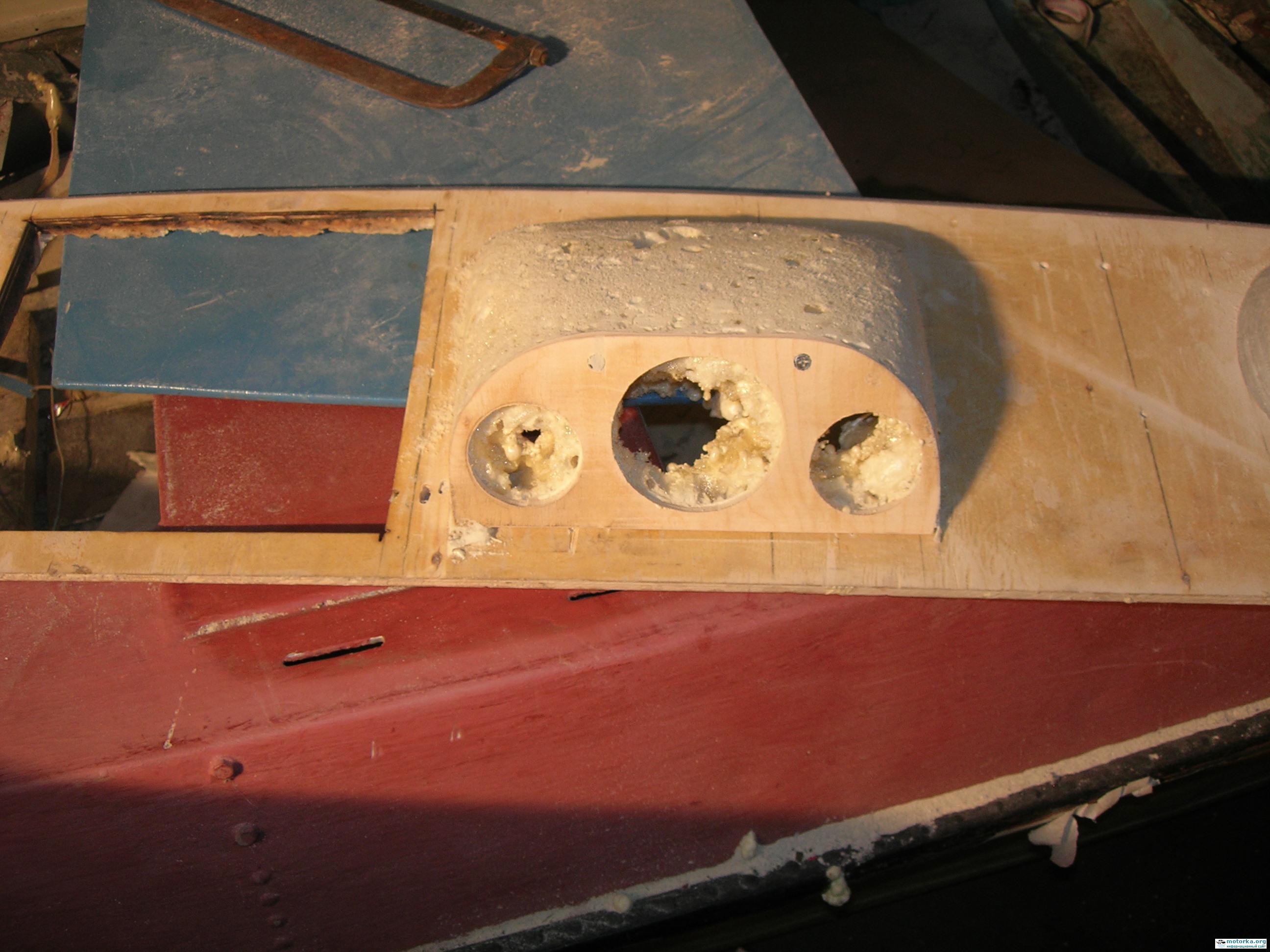 Приборная панель катера своими руками 86