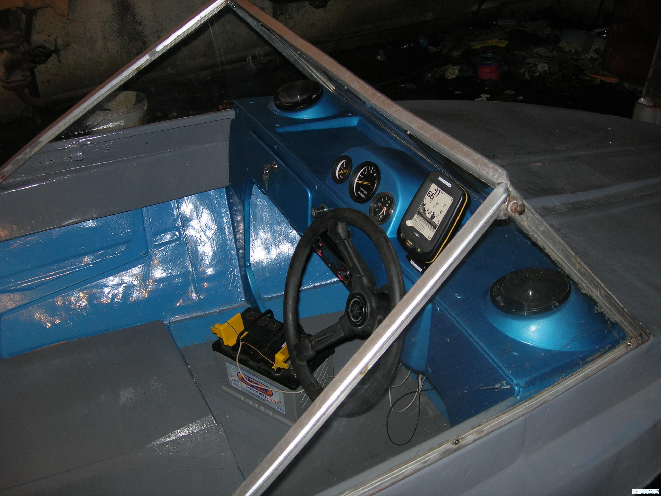 Приборная панель катера своими руками 15