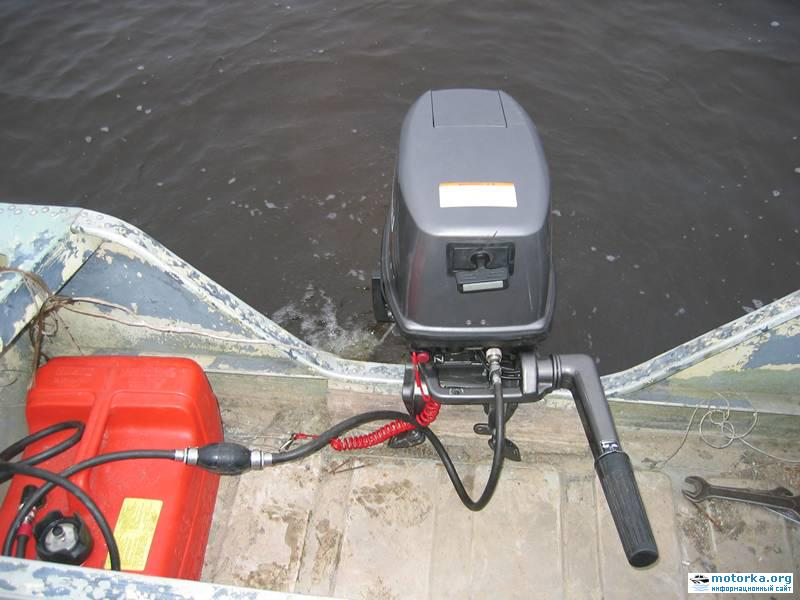 Крепление мотора к лодке Серебрянка 3