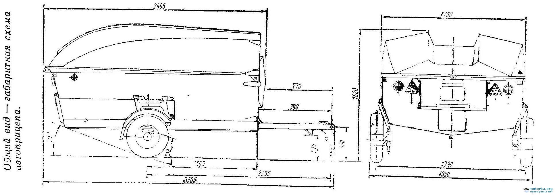 Прицеп для лодки своими руками - инструкция по изготовлению 63