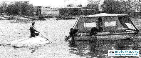 Лодка-прицеп Дон