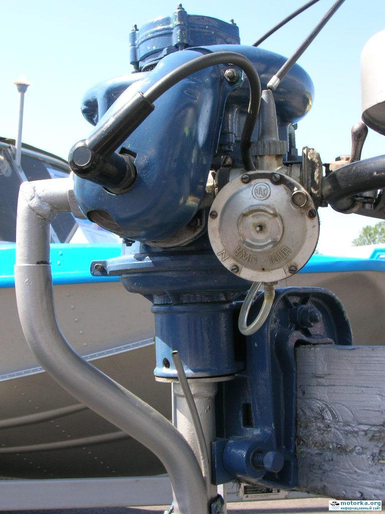 как устроен лодочный мотор ветерок