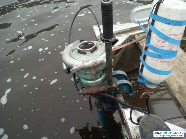 самодельные лодочные моторы гибриды