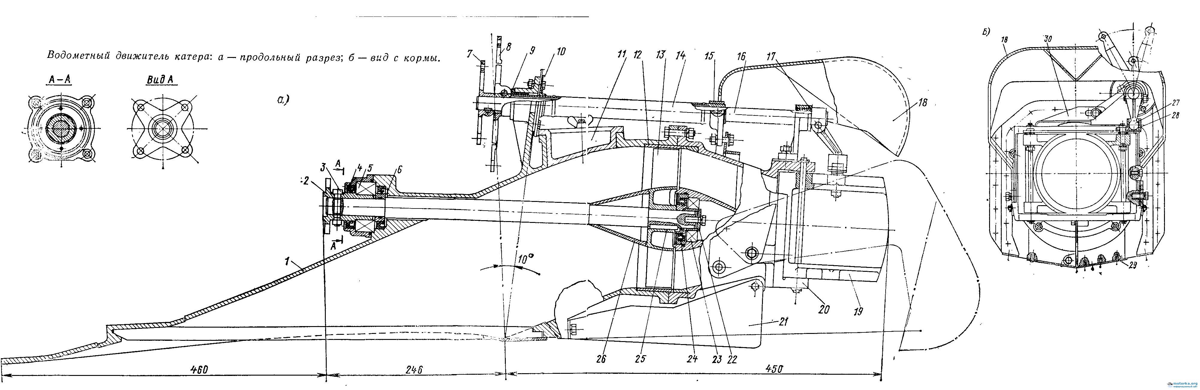 High Tech Защита подвесного лодочного мотора (ПЛМ) 60