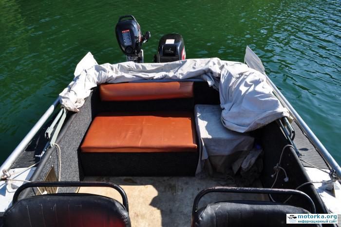 Сидений на лодку своими руками 32