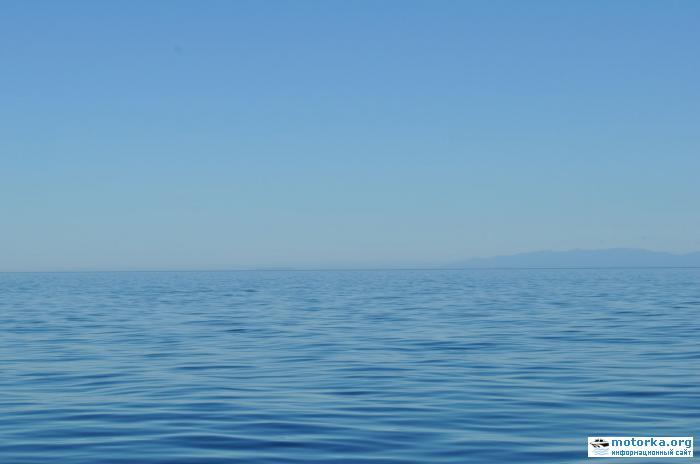 Путешествие по Байкалу на моторной лодке (июль 2011)