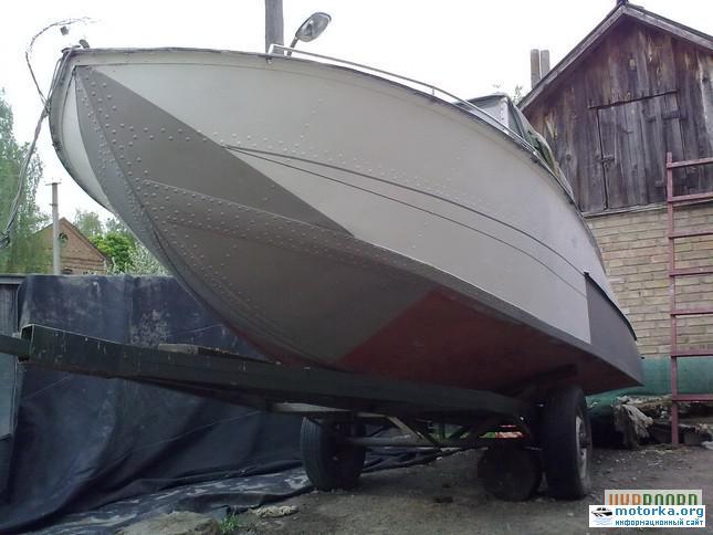 Обводы катера Амур