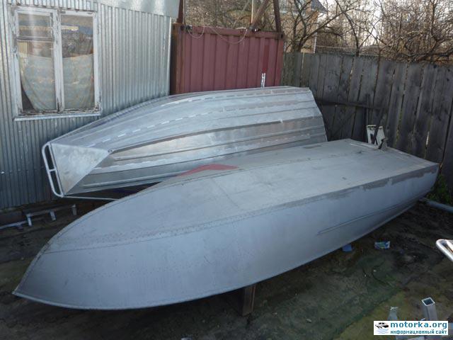 Днище катера Амур